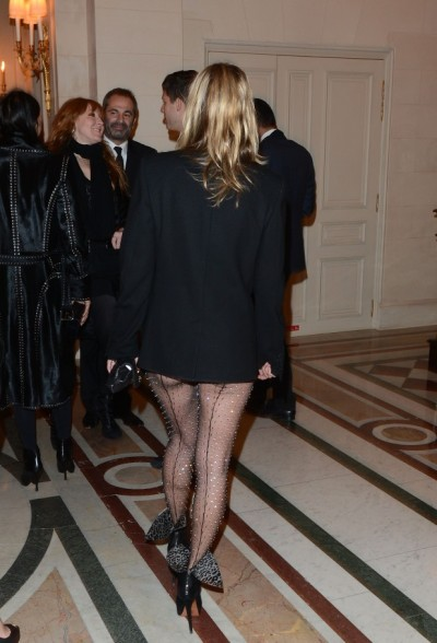 'CR Fashion Book Issue 2' - Carine Roitfeld Cocktail Arrivals - PFW F/W 2013
