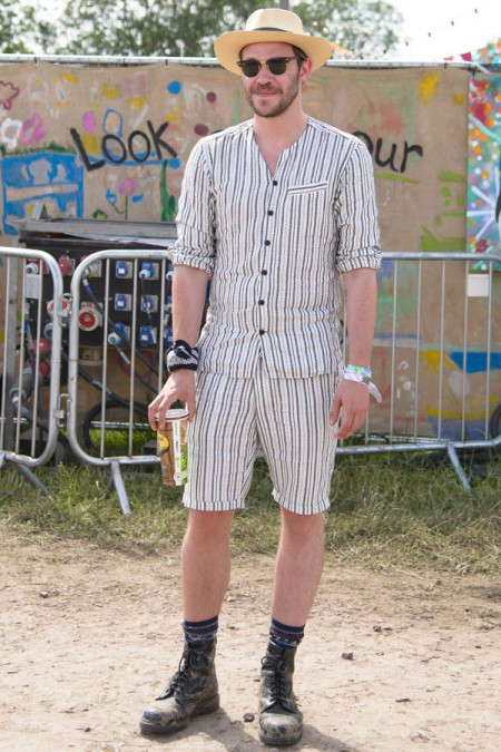 Will Young attends Glastonbury Festival at Worthy Farm on 27/06/2015 at Worthy Farm, Glastonbury.  Persons pictured: Will Young. Picture by Julie Edwards