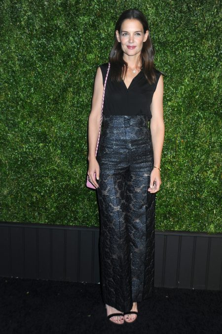 52028559 Celebrities attend the 11th Annual Chanel Tribeca Film Festival Artists Dinner at Balthazar on April 18, 2016 in New York City. Celebrities attend the 11th Annual Chanel Tribeca Film Festival Artists Dinner at Balthazar on April 18, 2016 in New York City. Pictured: Katie Holmes FameFlynet, Inc - Beverly Hills, CA, USA - +1 (310) 505-9876