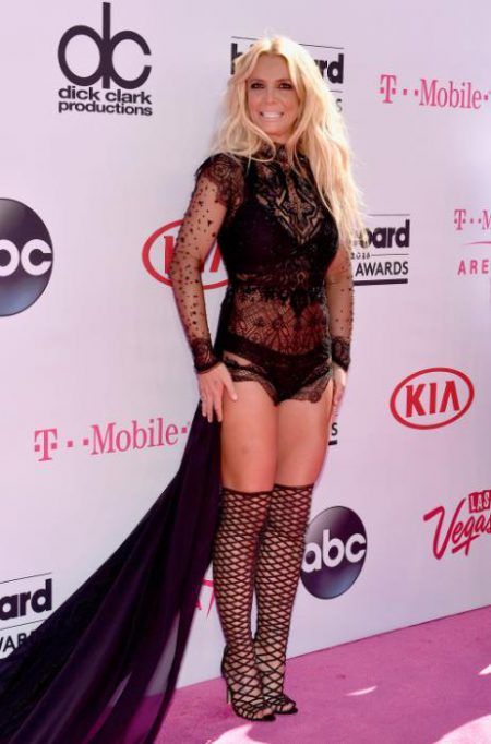 LAS VEGAS, NV - MAY 22: Singer Britney Spears attends the 2016 Billboard Music Awards at T-Mobile Arena on May 22, 2016 in Las Vegas, Nevada. (Photo by David Becker/Getty Images)