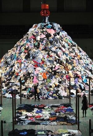 clothing pile