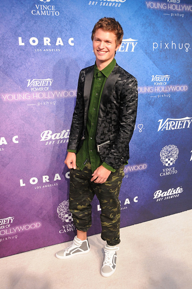 LOS ANGELES, CA - AUGUST 16: Actor Ansel Elgort attends Variety's Power of Young Hollywood event, presented by Pixhug, with Platinum Sponsor Vince Camuto at NeueHouse Hollywood on August 16, 2016 in Los Angeles, California. (Photo by Barry King/Getty Images)