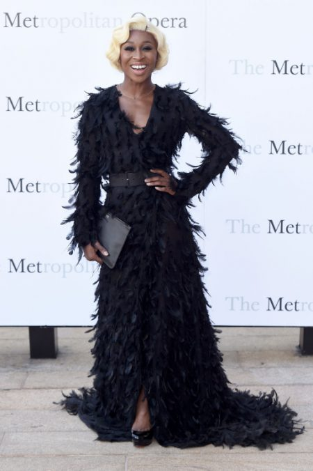 "NEW YORK, NY - SEPTEMBER 26: Cynthia Erivo attends the Met Opera 2016-2017 Season Opening Performance of ""Tristan Und Isolde"" at The Metropolitan Opera House on September 26, 2016 in New York City. (Photo by Nicholas Hunt/Getty Images)"