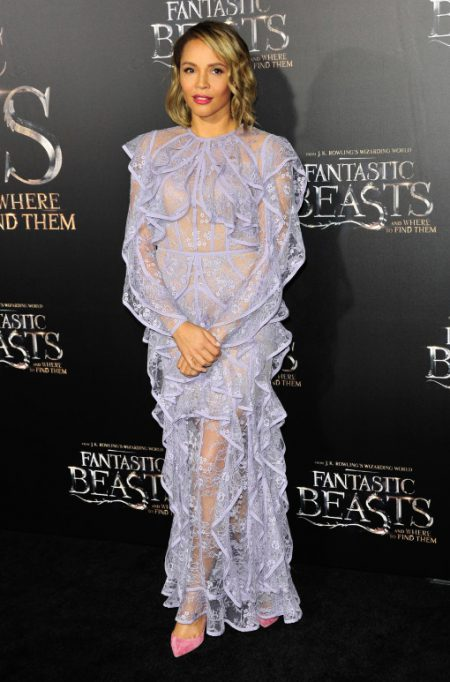 """52228331 Celebrities attend the premiere of """"Fantastic Beasts' in New York City, New York on November 10, 2016. Celebrities attend the premiere of """"Fantastic Beasts' in New York City, New York on November 10, 2016. Pictured: Carmen Ejogo FameFlynet, Inc - Beverly Hills, CA, USA - +1 (310) 505-9876"""