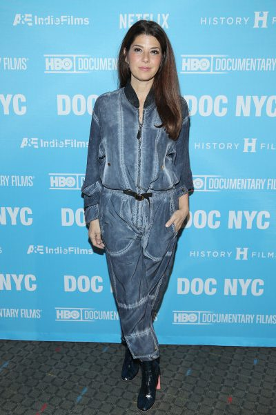 "NEW YORK, NY - NOVEMBER 10: Marisa Tomei attends the DOC NYC Opening Night Gala U.S. premiere of ""Citizen Jane: Battle for the City"" at SVA Theater on November 10, 2016 in New York City. (Photo by Rob Kim/Getty Images)"