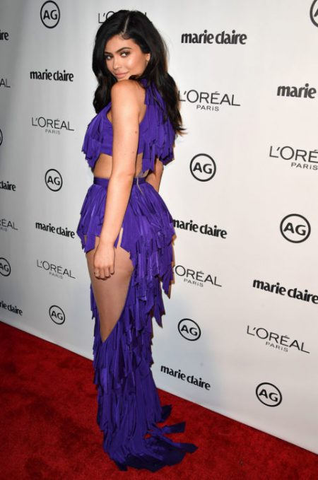 WEST HOLLYWOOD, CA - JANUARY 10: Kylie Jenner arrives at the Marie Claire's Image Maker Awards 2017 on January 10, 2017 in West Hollywood, California. (Photo by Steve Granitz/WireImage)